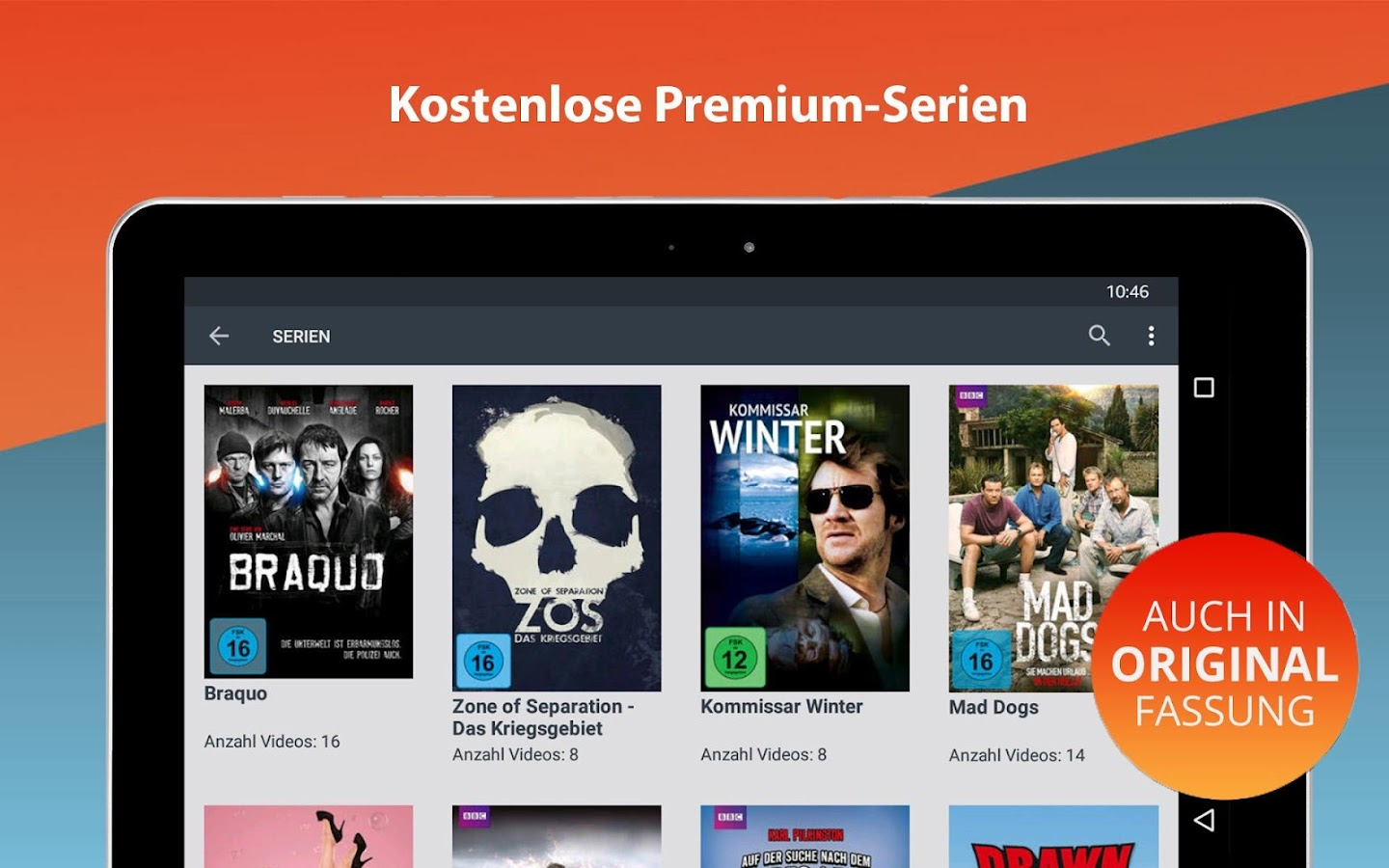 Clipfish: Filme, Serien, Anime- screenshot