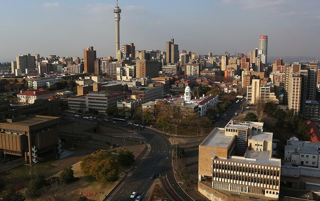 A view of the Johannesburg skyline.  Picture: THE TIMES