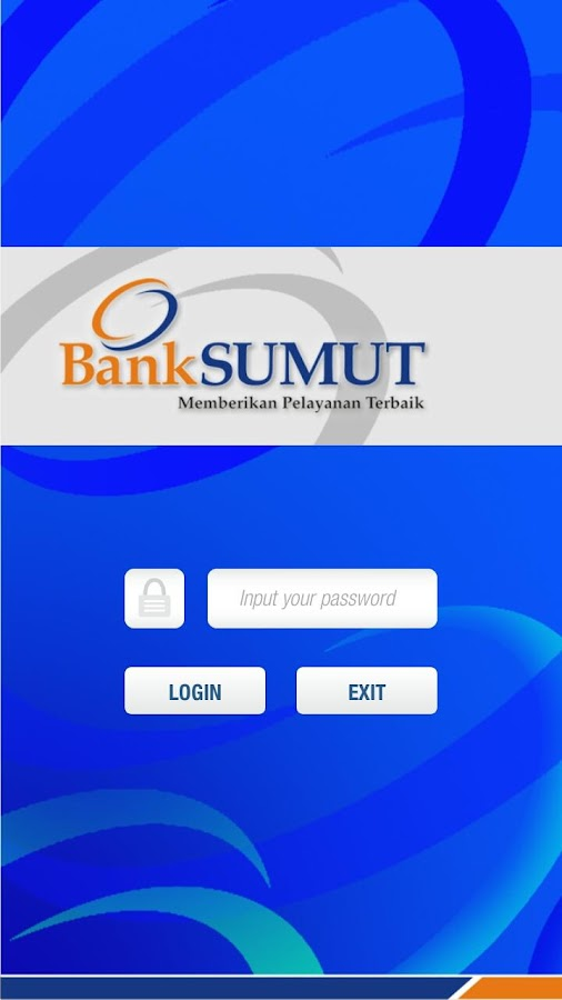 Bank Sumut New SMS Banking- screenshot