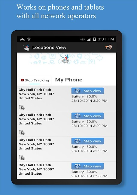 #7. Friend Locator : Phone Tracker (Android)