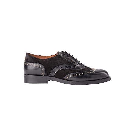 Mos Mosh MM Soho brogue shoe black
