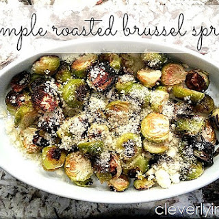 Simple Lemon Roasted Brussel Sprouts
