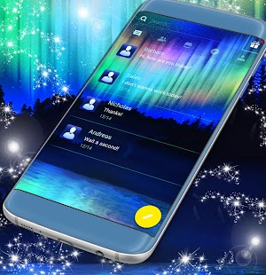 SMS Aurora Theme - náhled