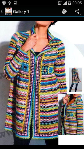 Crochet Pattern Women Cardigan