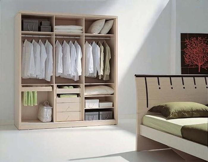 Chọn tủ quần áo đẹp mắt và tiết kiệm diện tích cho nhà nhỏ