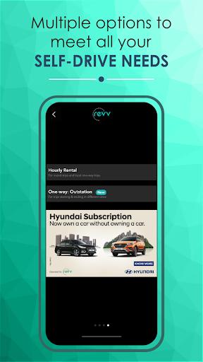Revv App - Self Drive Car Rental Services in India  screenshots 1