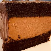 Whole Chocolate Mousse Cake