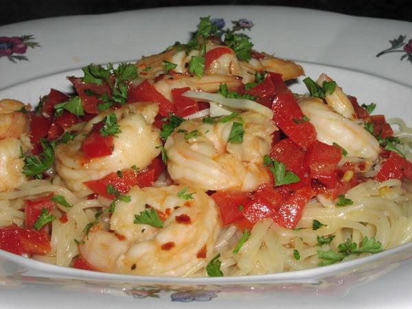 Shrimp In Buttery Garlic Sauce Recipe