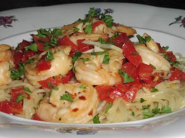 Shrimp In Buttery Garlic Sauce
