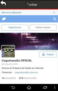 CaquetaRadio- screenshot thumbnail