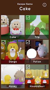 Escape Game Cake 1