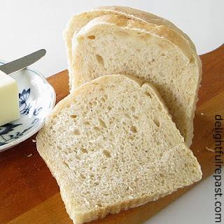 Sourdough Sandwich Bread.
