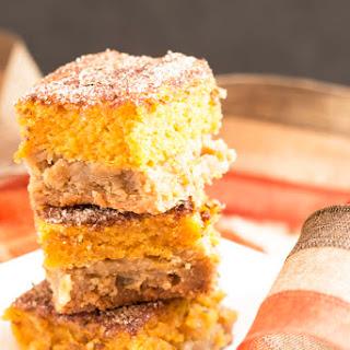 Snickerdoodle Pumpkin Pie Bars