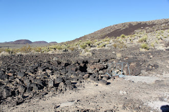 Photo: Lava Tubes -- You can go down this one