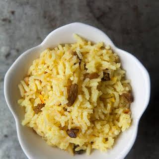 Saffron Rice Pilaf.