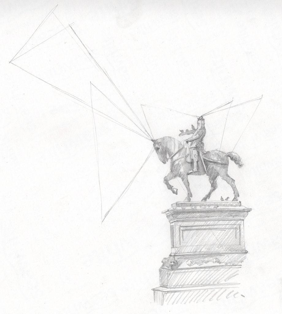 vẽ ý tưởng cho người mới bắt đầu: vẽ kỹ thuật bước 2