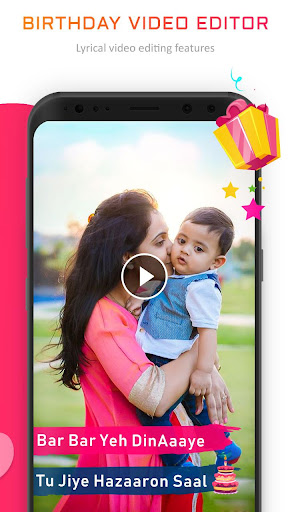 Birthday Video Maker with Song and Name screenshot 3