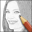 Sketch Effect Foto icon