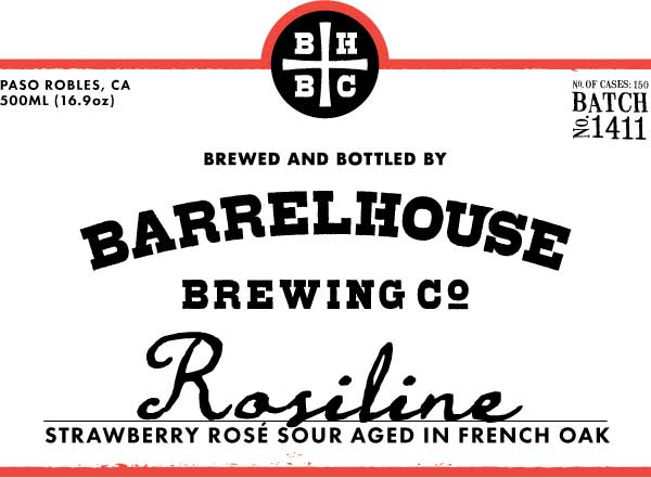 Logo of BarrelHouse Rosiline | Strawberry Rose Sour | Batch No. 1411