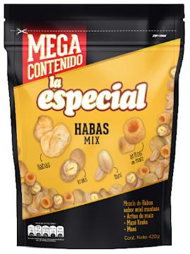 Mani La Especial Mezcla   de Habas Mix Paquete x 420 gramos