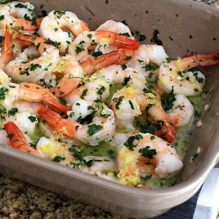 Baked Shrimp Scampi with Lemon and Garlic Recipe