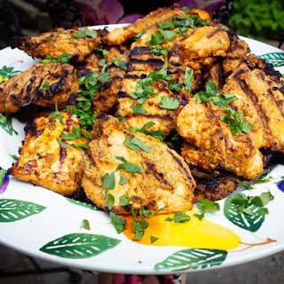 Crispy Latin American Chicken.