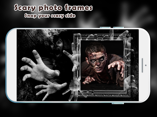 android Scary Photo Frames Screenshot 2