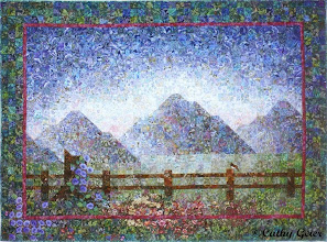 Photo: Morning Glory (inspired by my love of Grand Teton National Park)