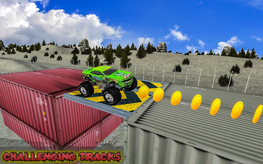 Extreme Monster Truck: Stunt Truck Game 1.0 screenshots 1