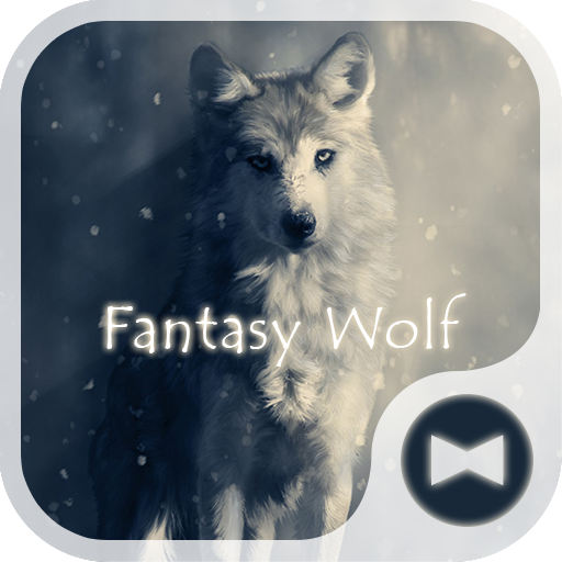 Stylish Wallpaper Fantasy Wolf Theme Icon