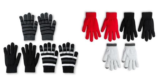 Target: $2.10 Tech Touch Glove...