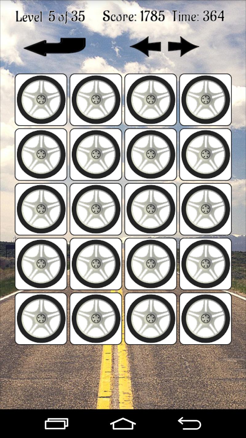 Скриншот Машины - Игра память 2015
