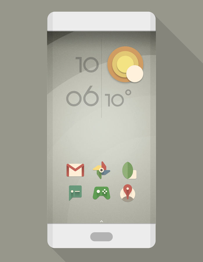 MINIMALE VINTAGE Icon Pack- screenshot