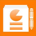 Presentation editor PPTWork for PPT slides Icon