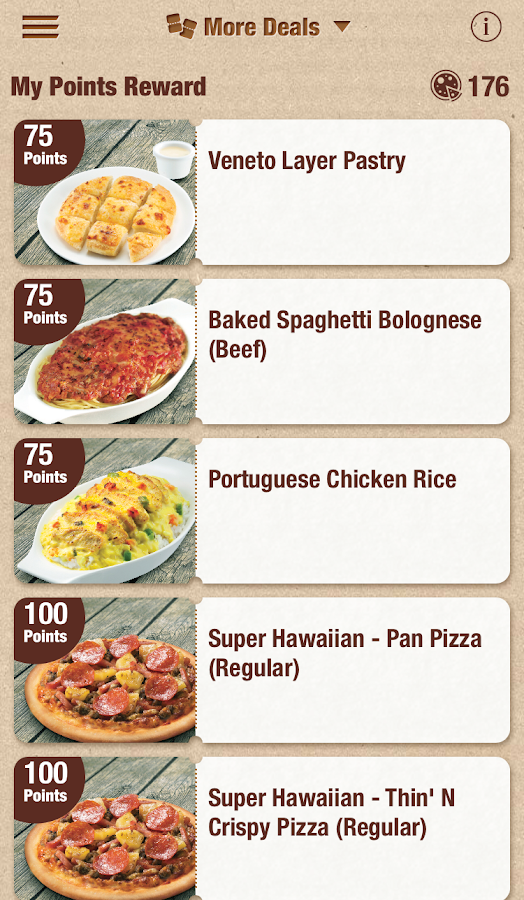 Pizza Hut HK- screenshot