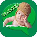 Cute Baby Funny Memes Sticker icon