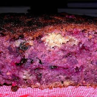 Sophie's Speedy Mixed Berry Cake.