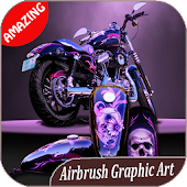 300++ Airbrush Graphic Art Design Ideas