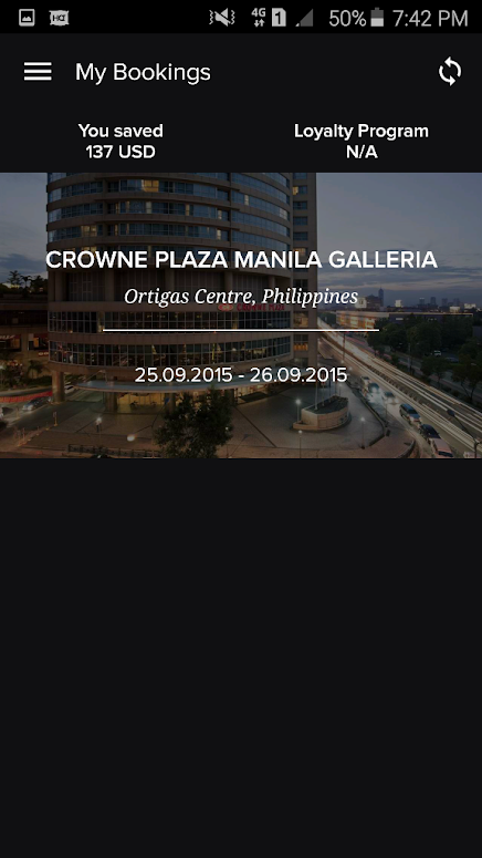 CROWNE PLAZA MANILA GALLERIA VIA HOTELQUICKLY