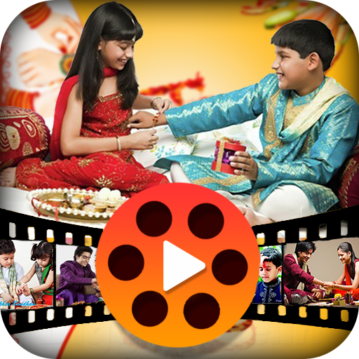 Rakhi VIdeo Maker with Music - Slideshow Maker