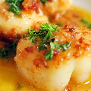 Scallops In Lemon Butter