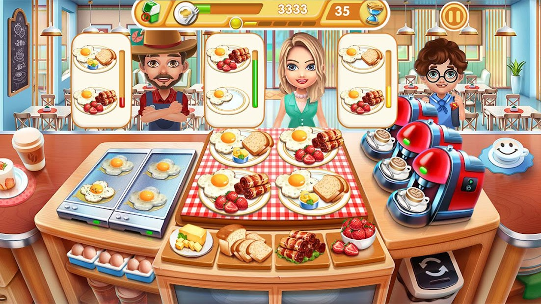 Cooking City - chef & restaurant game Android App Screenshot
