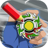 Coloring Game for Beyblader