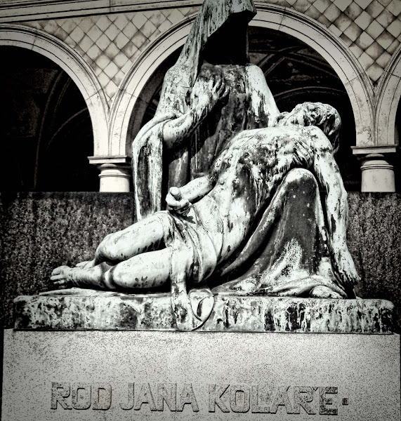 Photo: A Statue in Vysehrad, Prague for #sacredsunday by +Charles Lupica +Manfred Berndtgen +Bill Wood  #monochrome #bwphotography