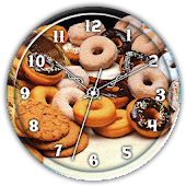 Cookie Clock Live Wallpaper