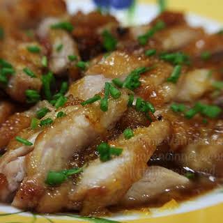 Honey Lemon Ginger Chicken.