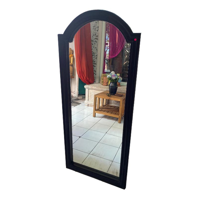 Teak Black Frame Mirror - Kaliuda Gallery Bali - Best Mirror Ideas & Inspiration for Your Home