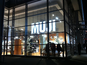 Photo: Big MUJI Store.