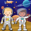 Pretend play space town icon
