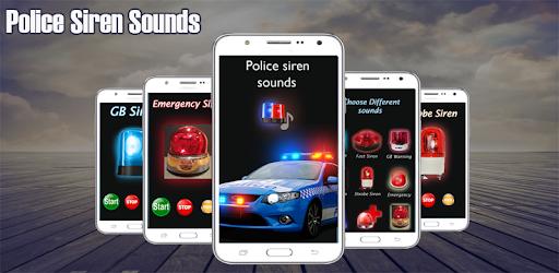 Loud Police Siren Sound - Police Siren Light - Apps on